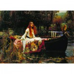 Dtoys-72757 Waterhouse John William : The Lady of Shalott
