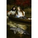Dtoys-72771 James Tissot: On the Thames, A Heron