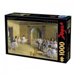 Dtoys-72801-DE03 Edgar Degas - Foyer de la danse à l'Opéra de la rue Le Peletier