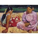Dtoys-72818 Gauguin Paul : Femmes de Tahiti