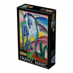 Dtoys-72856-MA02-(75147) Marc Franz : Cheval Bleu