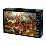 Dtoys-72900-BR02-(72900) Brueghel Pieter : La Chute des Anges Rebelles, 1562