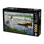 Dtoys-73068-MA05-(74522) Edouard Manet - Les Berges de la Seine à Argenteuil