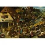 Dtoys-73778 Brueghel Pieter - Les Proverbes Flamands