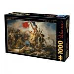 Dtoys-73808 Delacroix Eugène - La Liberté Guidant le Peuple