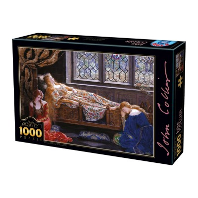 Dtoys-73822 John Collier - The Sleeping Beauty