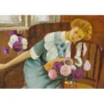 Dtoys-73914-LU01 Stefan Luchian - Lorica with Chrysanthemums