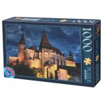 Dtoys-74775 Château des Corvin by Night - Roumanie