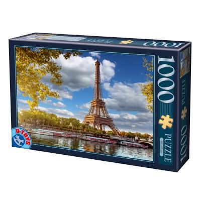 Dtoys-74805 La Tour Eiffel, Paris