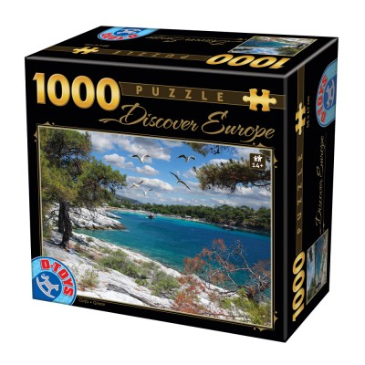 Dtoys-74898 Discover Europe - Corfu