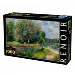 DToys-74904 Auguste Renoir - Marronnier en fleurs