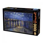 Dtoys-74928 Van Gogh Vincent - Nuit Etoilée sur le Rhône