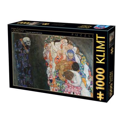 Dtoys-74935 Klimt Gustav - La Vie et la Mort, 1916