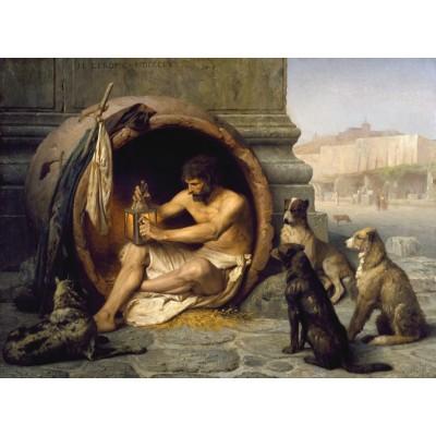 Dtoys-75017 Jean-Léon Gérôme : Diogène, 1860