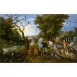 DToys-75253 Brueghel Pieter - Entrée des Animaux dans l'Arche de Noé