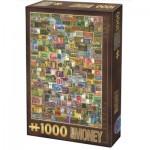 Dtoys-75277 Vintage Collage - Billets de Banque
