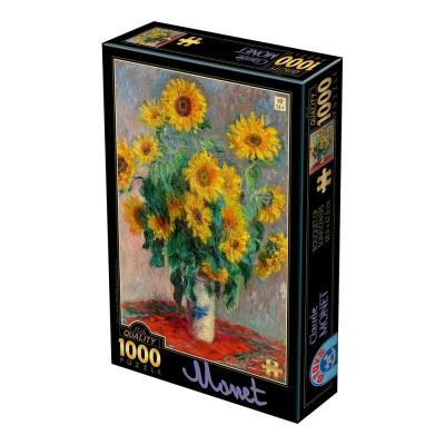 Dtoys-75864 Claude Monet - Bouquet of Sunflowers