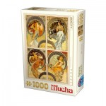 Dtoys-75895 Mucha - Arts