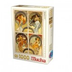 Dtoys-75895-MU10 Alfons Mucha