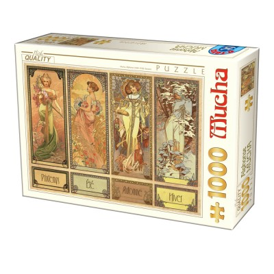 Dtoys-75901 Mucha Alfons - Seasons
