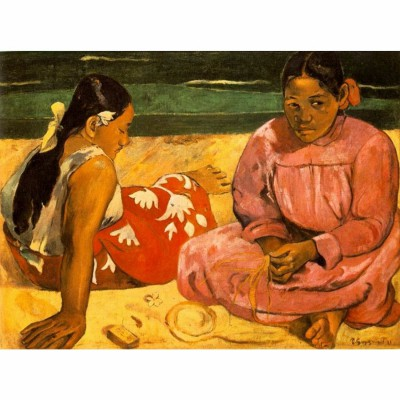 Dtoys-76465 Gauguin Paul - Femmes de Tahiti
