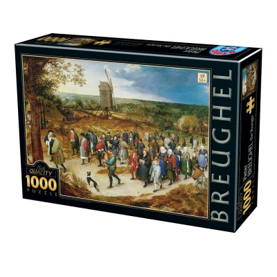 Dtoys-76854 Brueghel le Jeune - The marriage procession