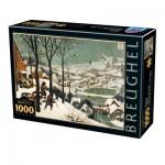 Dtoys-76878 Pieter Brueghel Le Vieux - Chasseurs dans la Neige