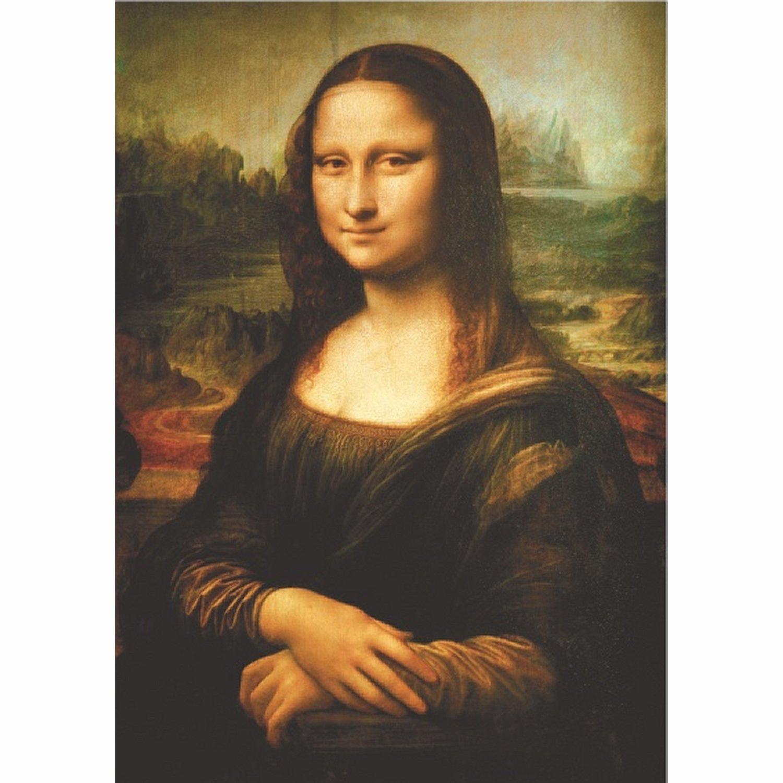 Extrêmement Puzzle Léonard de Vinci - La Joconde, Mona Lisa DToys-66954-RN06  QU34