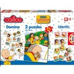 Educa-14094 Superpack 4 in 1 - Caillou