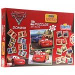 Educa-14927 Superpack Cars 2 : Memory, puzzles et dominos