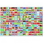 Educa-15530 Drapeaux du monde