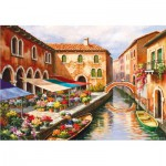 Educa-15791 Sung Kim - Flower Market on the Canal
