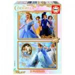 Educa-16327 2 Puzzles - Cendrillon