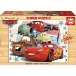 Educa-16800 Puzzle en Bois - Cars