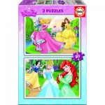 Educa-16846 2 Puzzles - Disney Princess