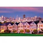Educa-17119 Painted Ladies, San Francisco