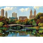 Educa-17136 Central Park Bow Bridge