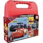 Educa-17175 4 Puzzles - Cars 3