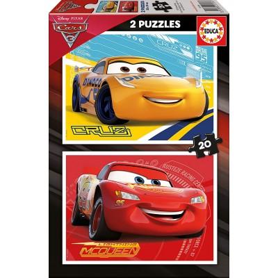 Educa-17176 2 Puzzles - Cars
