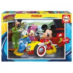 Educa-17240 Mickey and the Roadster Racers