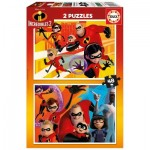 Educa-17634 2 Puzzles - Incredibles 2