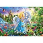 Educa-17654 La Princesse et la Licorne