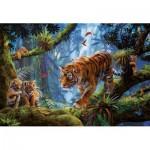 Educa-17662 Tigres dans les Arbres