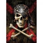 Educa-17964 Crâne de pirate