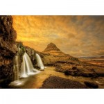 Educa-17971 Chute d'eau de Kirkjufellsfoss, Islande