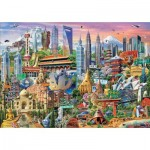 Educa-17979 Sights In Asia