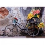 Educa-17988 Bicycle with flowers