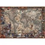Educa-18008 Carte du Monde Antique