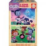 Educa-18081 Puzzle en Bois - Disney - Vampirina