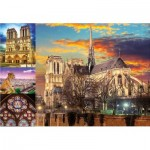Educa-18456 Collage - Notre Dame de Paris